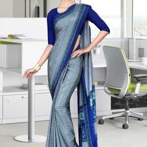 light-blue-and-blue-italian-crepe-silk-simple-uniform-saree-502-19