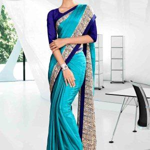 light-blue-and-blue-school-uniform-saree-844