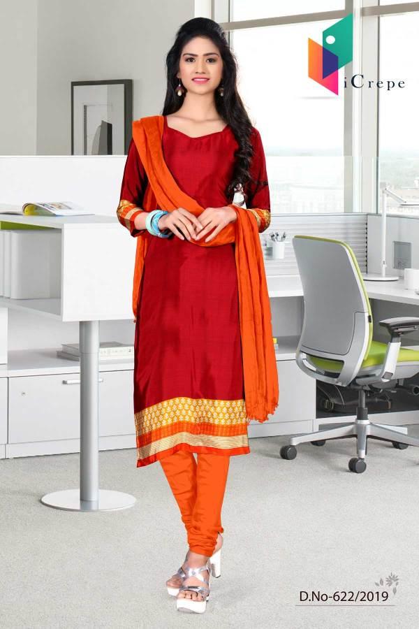 maroon-and-orange-italian-crepe-silk-college-uniform-salwar-kameez-622
