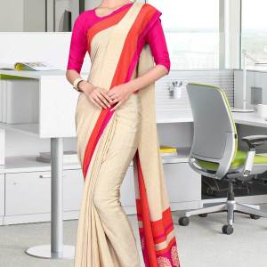 off-white-and-pink-italian-crepe-silk-stylish-uniform-saree-487-19