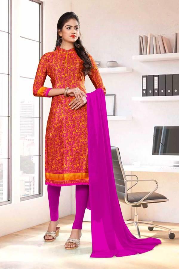 orange-wine-paisley-print-premium-italian-silk-crepe-uniform-salwar-kameez-for-teachers-01038