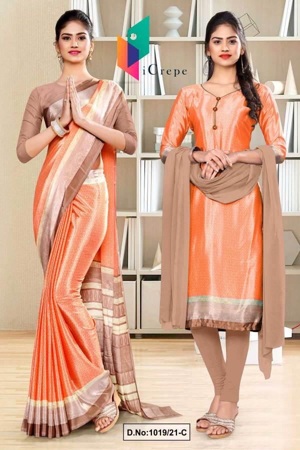 peach-gray-premium-italian-silk-crepe-saree-salwar-combo-for-school-uniform-sarees-1019-C