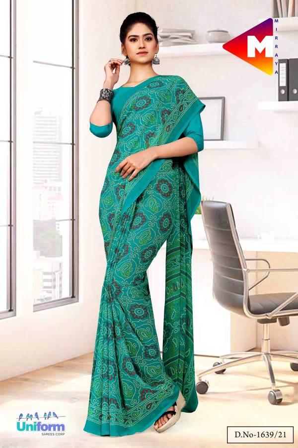 sea-green-premium-georgette-bandhej-print-religious-ocassions-sarees-for-rajasthani-bandhani-1639