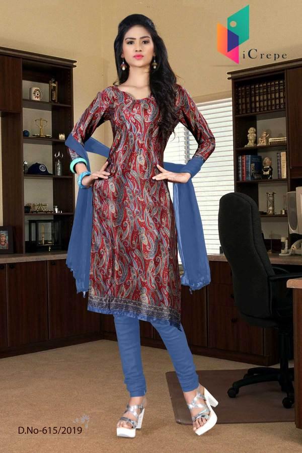 turquoise-blue-italian-crepe-silk-hospital-uniform-salwar-kameez-615