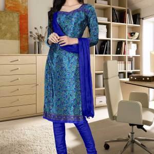 turquoise-blue-italian-crepe-silk-hotel-uniform-salwar-kameez-614