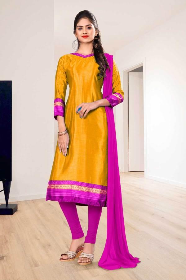 yellow-lavender-premium-italian-silk-crepe-salwar-kameez-for-workers-uniform-sarees-01015