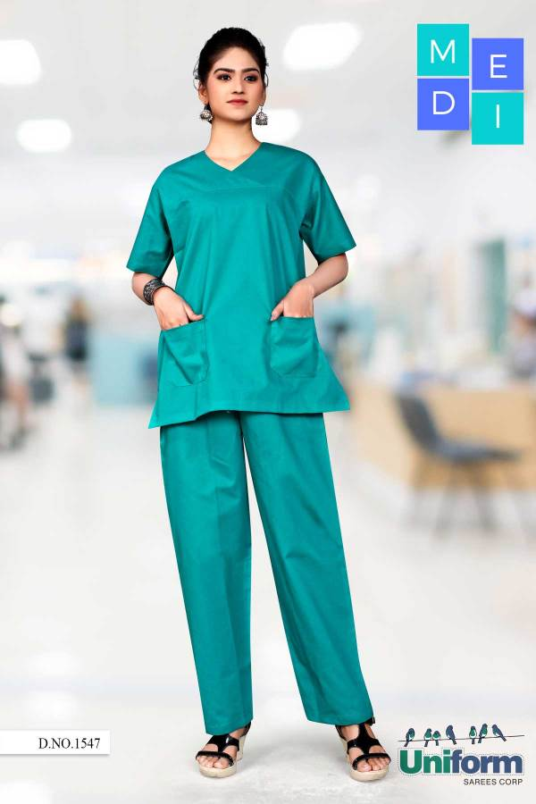 Hospital-Green-Doctors-Scrub-Medical-Uniforms-1547