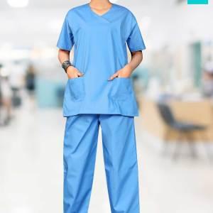 Light-Blue-Scrub-Suit-Female-Nurse-Uniforms-1544