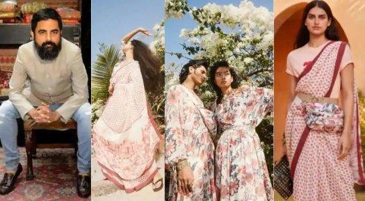 Sabyasachi-H&M-Uniform-Sarees-Collection