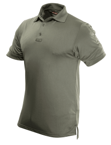 TRU-SPEC Men's Short Sleeve Performance Polo - CLASSIC GREEN - 4489F