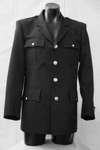 Bonacci Class A Single Breasted Dress Coat - Made in the USA - Front