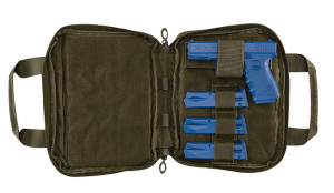 PROPPER 8x10 Pistol Case - F5617 - Olive-Open-Gun-Mags