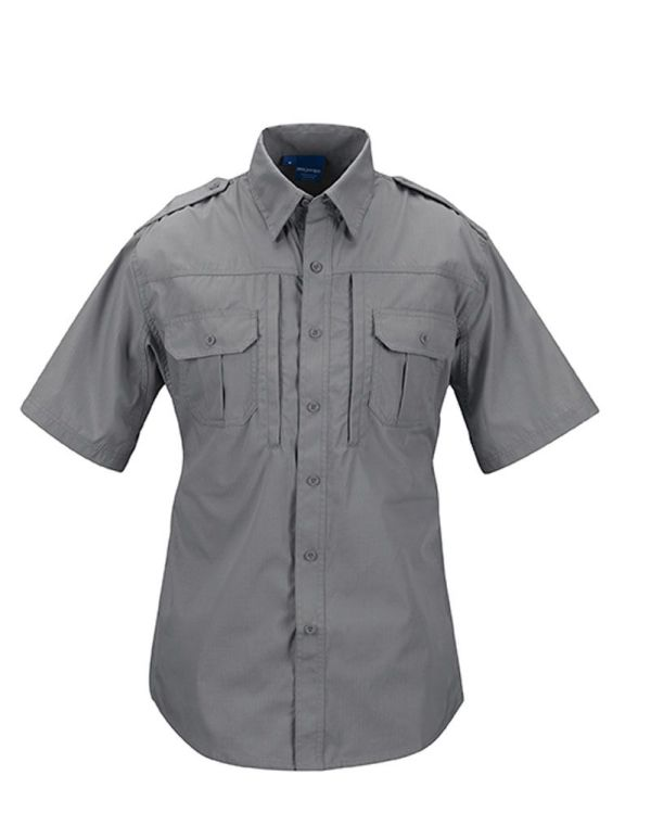 PROPPER Tactical Shirt-short-sleeve-mens-F531150020-grey