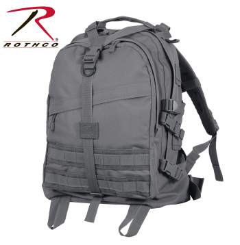 Rothco Large Transport Pack - Gun Metal Grey - 7233-B