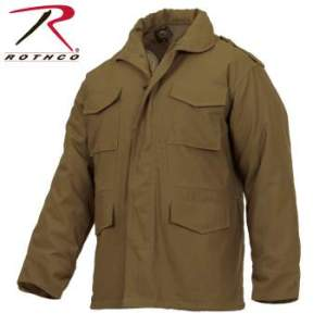 Rothco M-65 Field Jacket - 3896-A2 - Coyote Brown