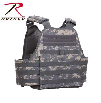Rothco MOLLE Plate Carrier Vest - 8932-C1 - Digital Camo