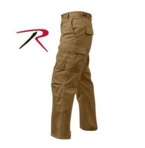 Rothco Tactical BDU Pants - 8522-C2 - Coyote Brown