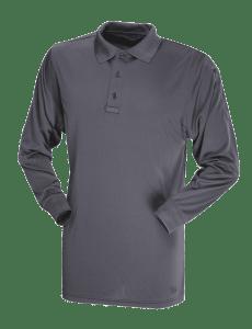TRU-SPEC - Long Sleeve Performance Polo - Charcoal Grey - 4504F