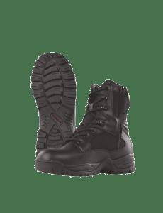 TRU-SPEC TAC Assault 9 Side Zip Boots - Black - 4059