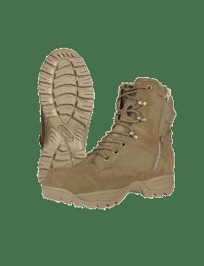 TRU-SPEC TAC Assault 9 Side Zip Boots - Coyote - 4060
