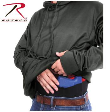 Rothco Concealed Carry Hoodie - 2075-C2-Grey