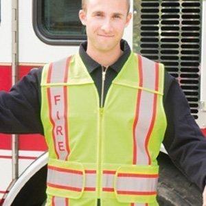 game-sportswear-i-101 FIRE 5-Point Breakaway-hi-viz-safety-vest
