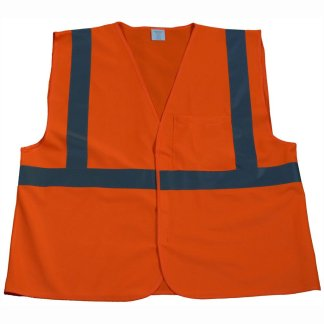 Petra Roc - ANSI ISEA Class 2 Economy Safety Vest - OV2-EC - Solid-Front