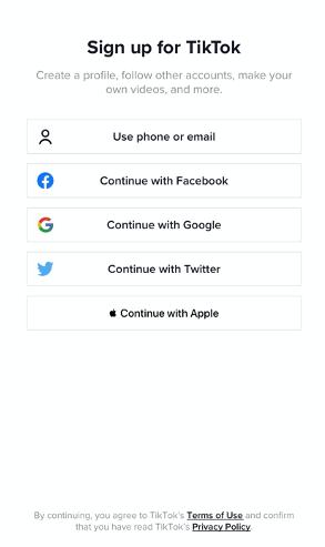 Create accounts