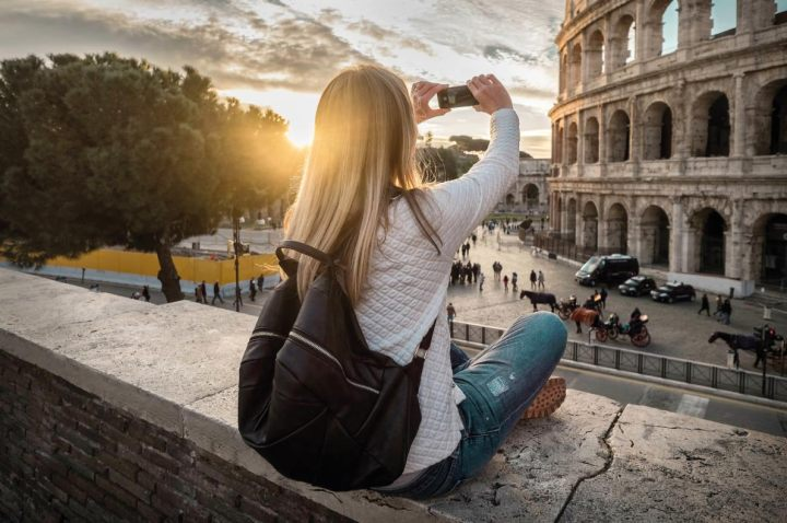 Rome girls holiday