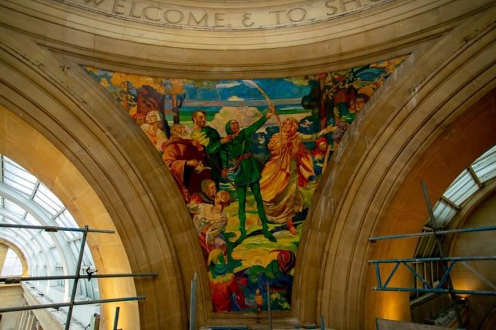 The Exchange Mural Nottingham