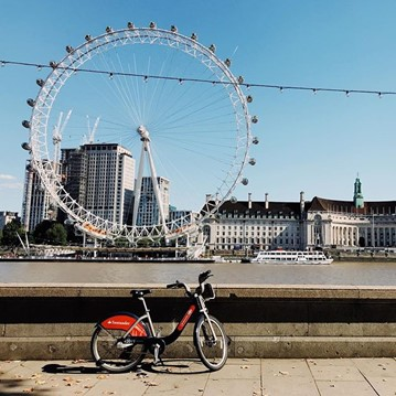 Santander bike things to do in london as a student