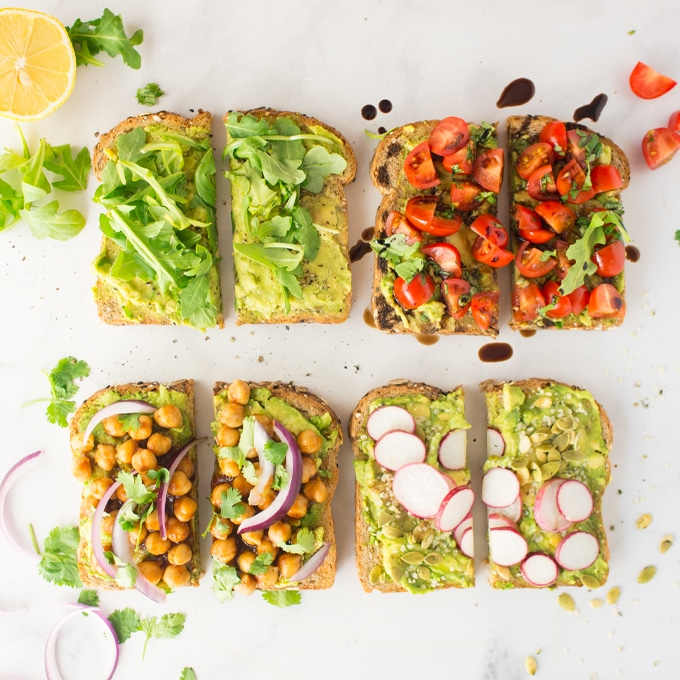 vegan toast veganuary recipes