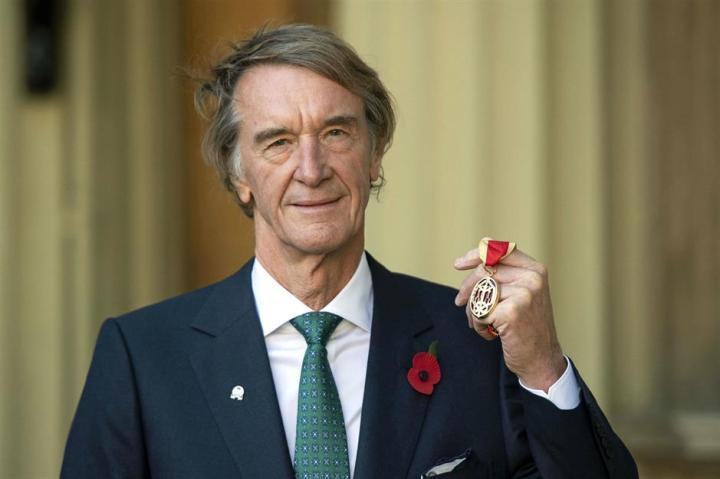 Sir Jim Ratcliffe UK billionaires