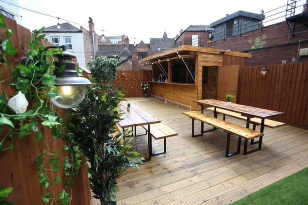 The Secret Garden bar nottingham