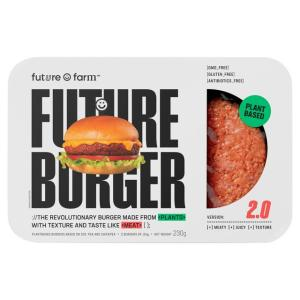 Future Farm Vegetarian Burgers