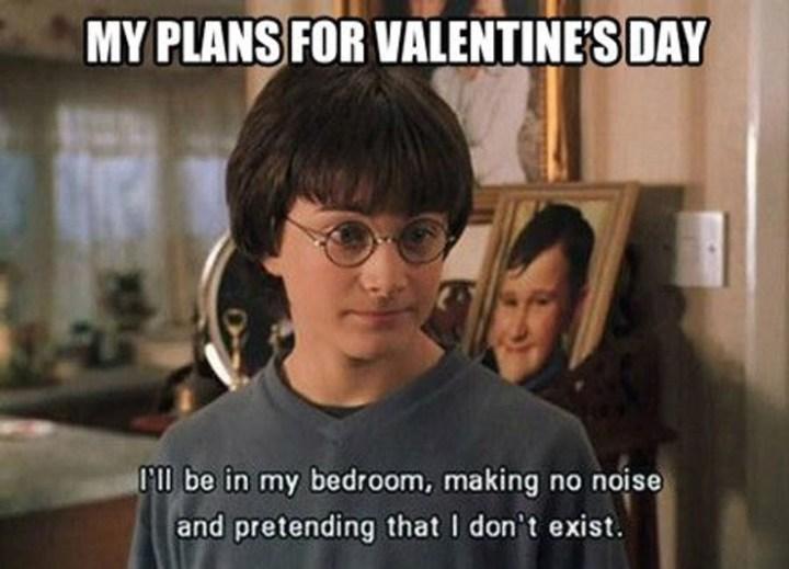 Harry Potter Valentines meme