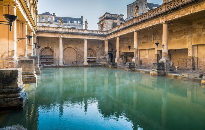 things bath is famous for