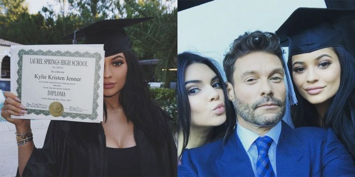 kendall and kylie graduation