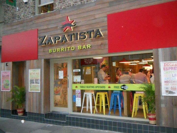 Zapatista Burrito Bar