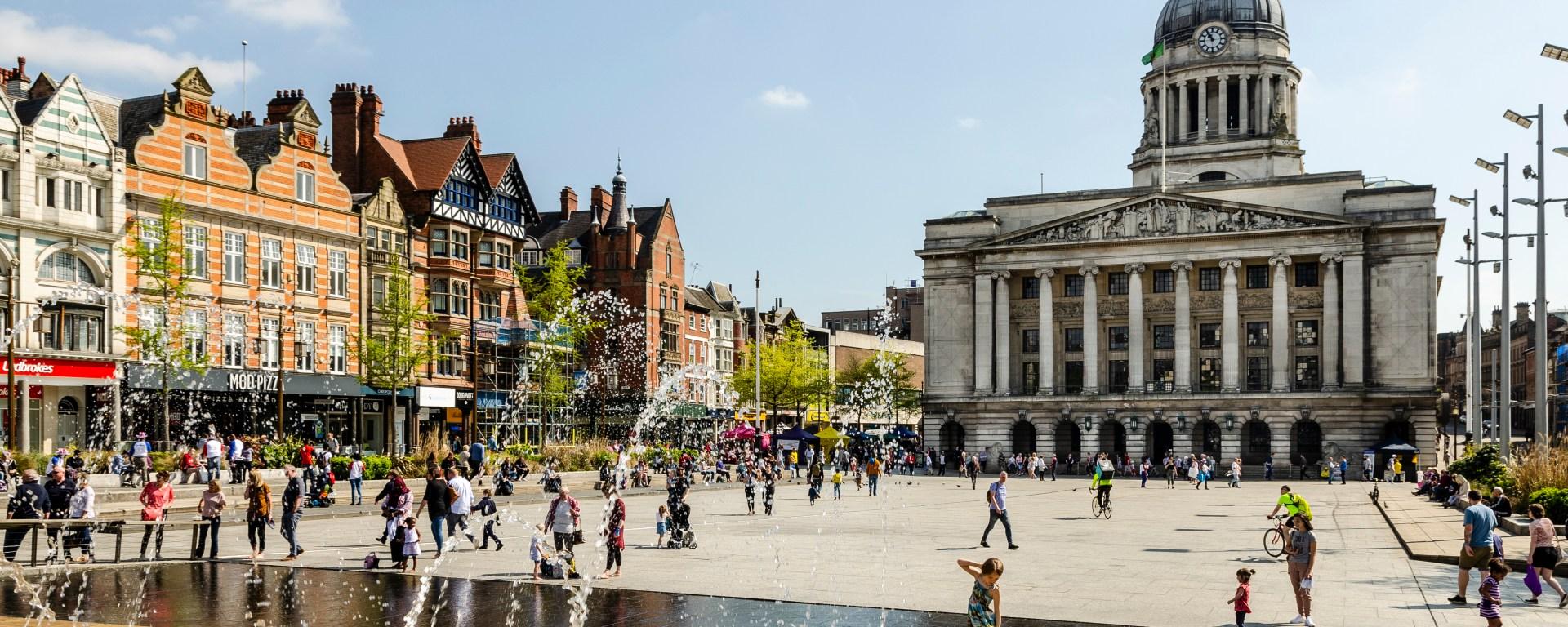 best halls in Nottingham