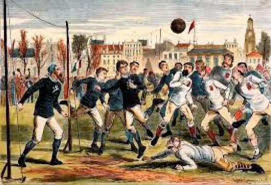 Scotland England 1872 match