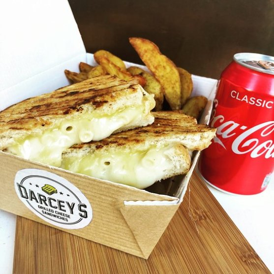 Darcey's Grilled Cheese Sandwiches