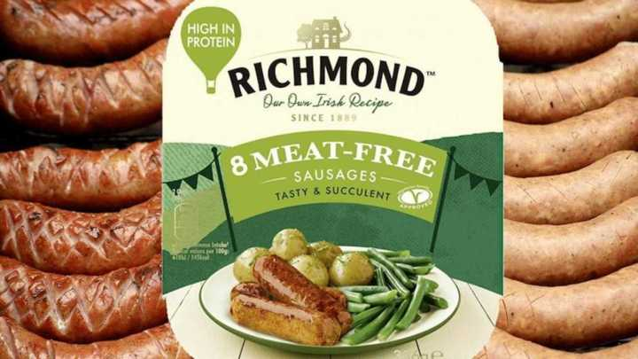 richmond meat free sausages