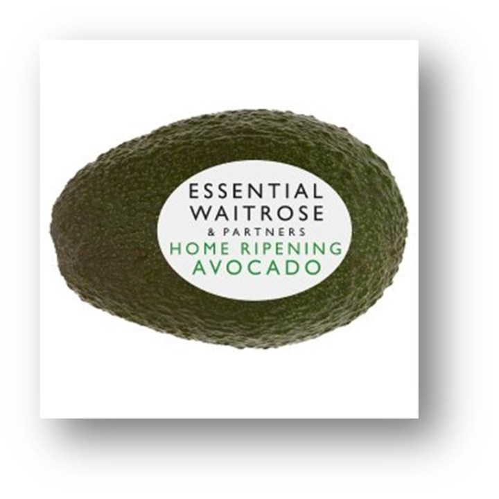 waitrose essentials avocado