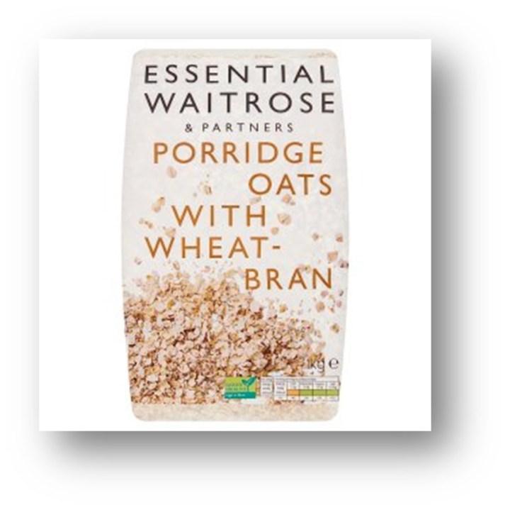 waitrose essentials porridge