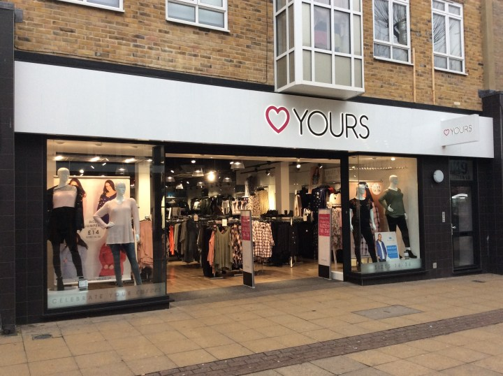 yours plus size clothing