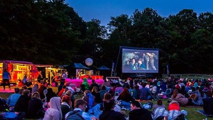 best things to do in Birmingham for students - Birmingham outdoor cinema