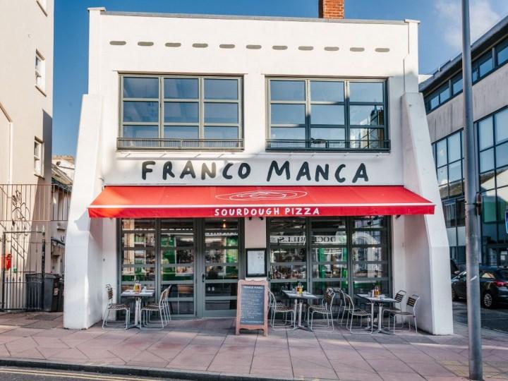 franco manca restaurant brighton