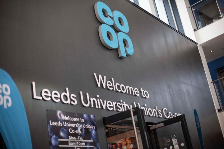 leeds university shops
