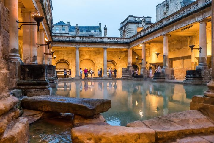 best things to do in Bath for students - Roman Baths